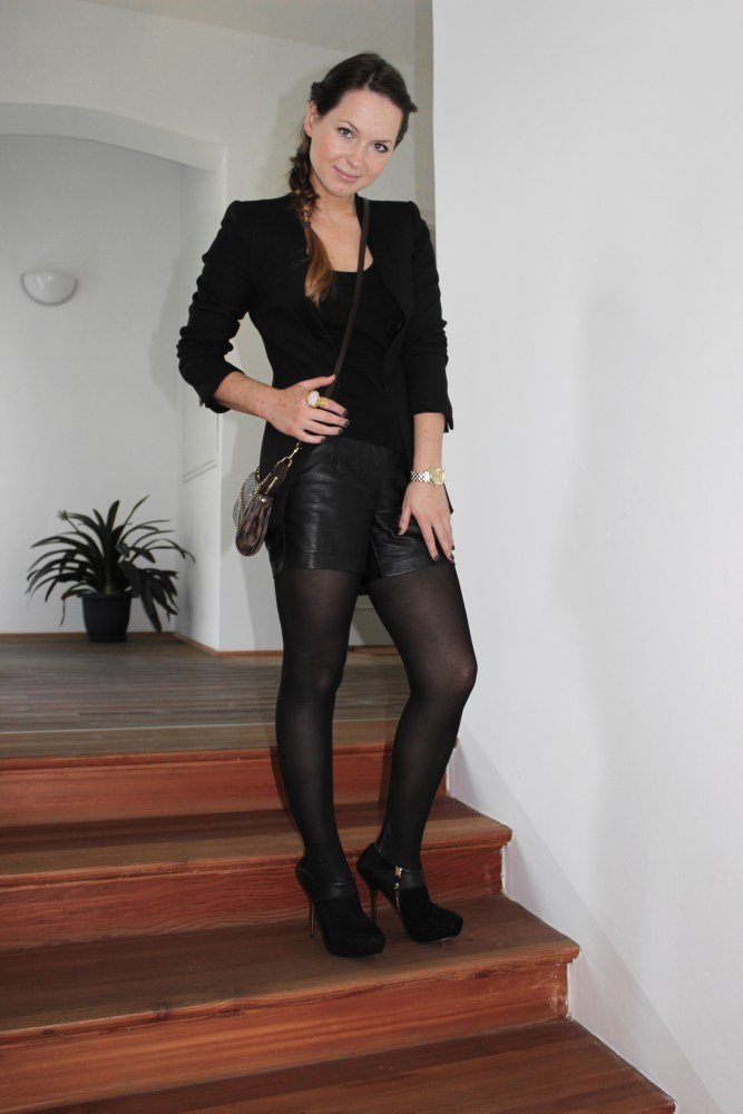 Day-To-Night Outfit [ Leder-Short ] (5/6)