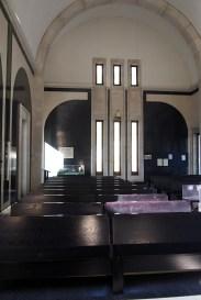 Basilika Santuario de Meritxell - moderní podoba kaple / a modern form of chapel