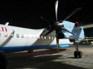 Nejmenší letadlo, kterým jsem kdy letěla. Horší to bylo v představách než ve skutečnosti. / The smallest plane, I've ever flown