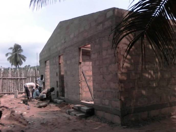 Steps added to Love Africa Project 20-toilet washroom to end open defecation