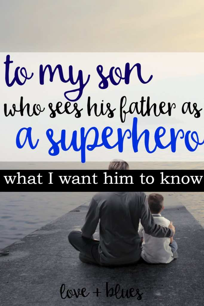 Loved this. My little boy is the same way. He loves his police father and it scares me! I don't want him to go down the same path. But knowing him.... he probably will. Lol