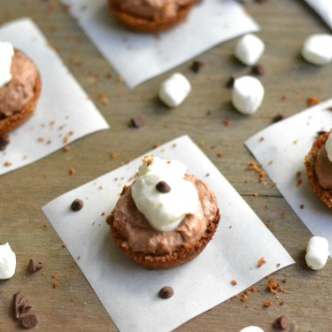 S'mores Mousse Cups
