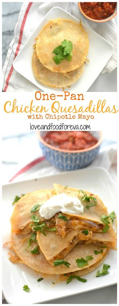 chicken quesadilla pinterest