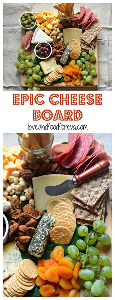 Putting together an Epic Cheese Board is easy with a few simple tips, no cooking necessary! And this one is a total crowd pleaser!