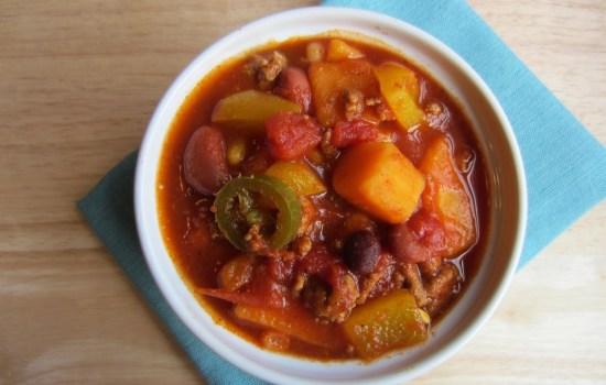 Love and Three Bean Turkey Chili
