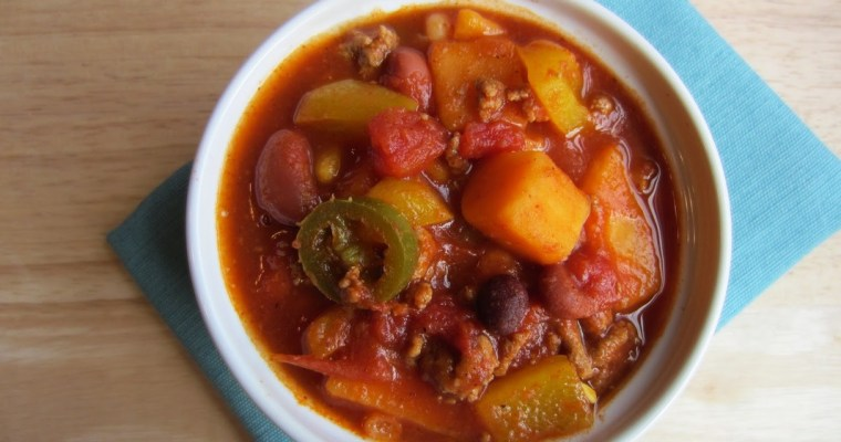 Love and Three Bean Turkey Chili
