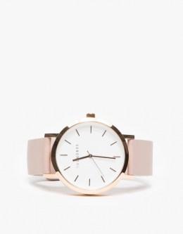 Rose Gold Blush Band Watch Need Supply Co.