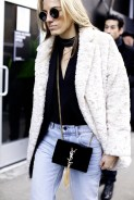 choker-shirt-style-fur-coat-denim-pants-street-style