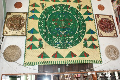 A Maya calendar.