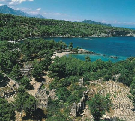 phaselis-ancient-city-turke
