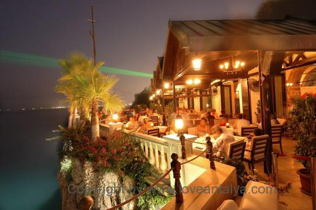 Club Arma restaurant Antalya