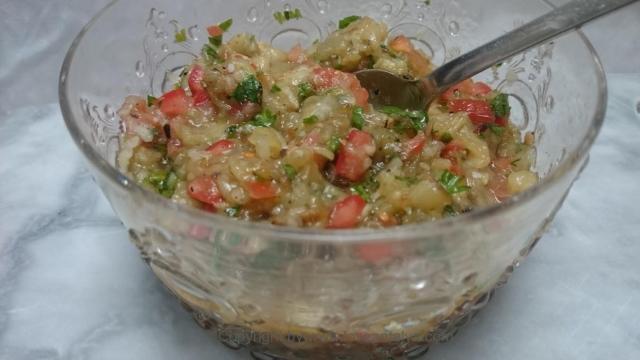 aubergine salat 5