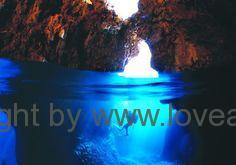 adrasan dykning grotte