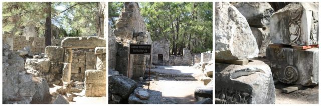 Phaselis ruins