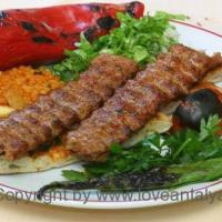 Turkish Adana Kebab - hot, spicy and really delicious