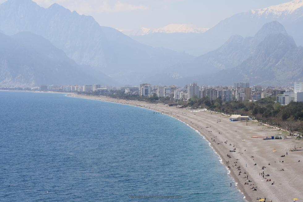 best beach in Antalya city