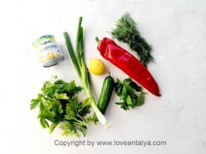Tyrkisk pastasalat - arpa sehriye salata