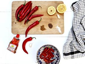 chili sauce ingredienser