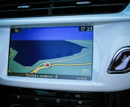 Citroën DS3 Cabrio Navigatie