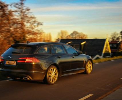 Jaguar XF Sportbrake Achterkant
