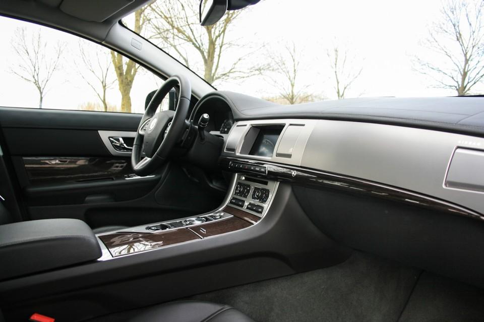Jaguar XF Sportbrake Interieur