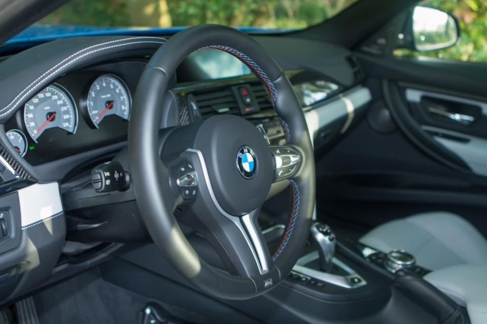 BMW F80 M3 dashboard 2014