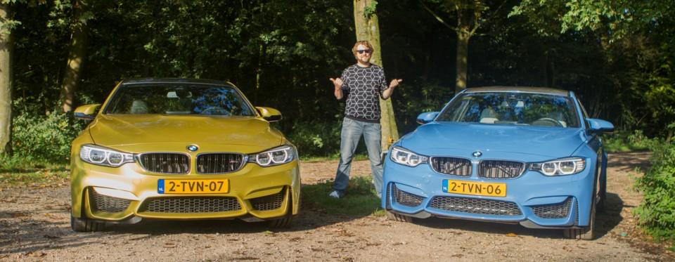 BMW F80 M3 F82 M4 Laurens 2014
