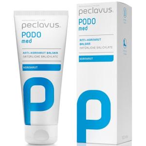 peclavus PODO med Anti Hornhaut Balsam przeciw rogowaceniu skóry-naturalne salicylany 100ml