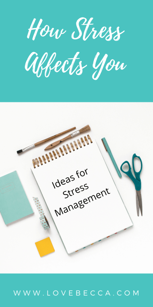 ideas for stress management