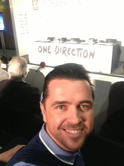 pete Snodden at One Direction