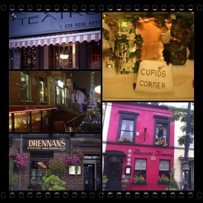 What is Belfast most romantic restaurant?