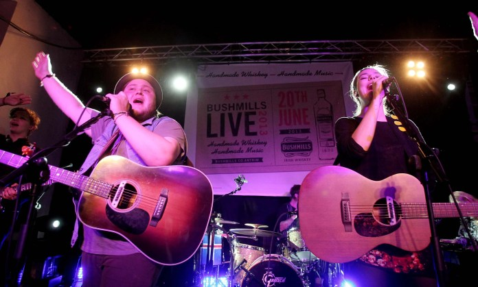 Of Monsters and Men rock Bushmills Live 2013 3 - - the festival of handcrafted whiskey and music