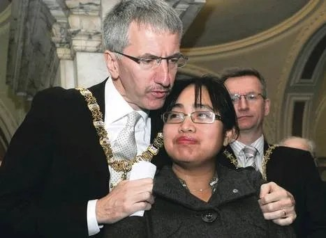 Belfast Lord Mayor philipines