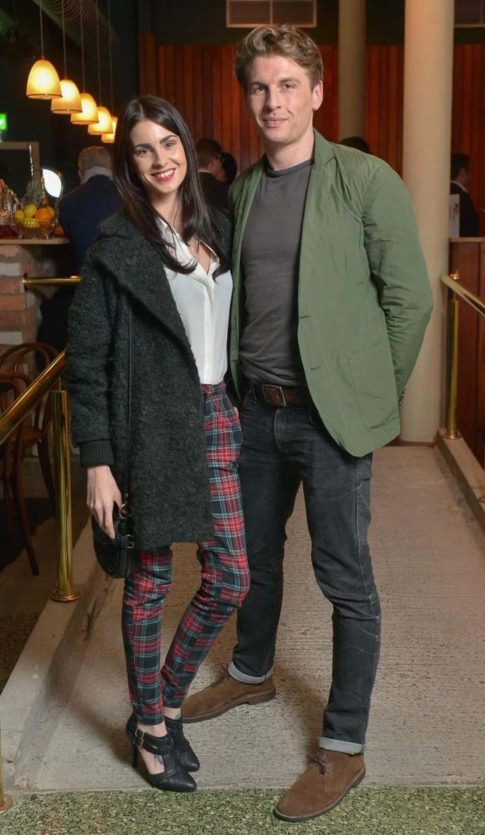 Caroline Taylor and Jonny Rankin