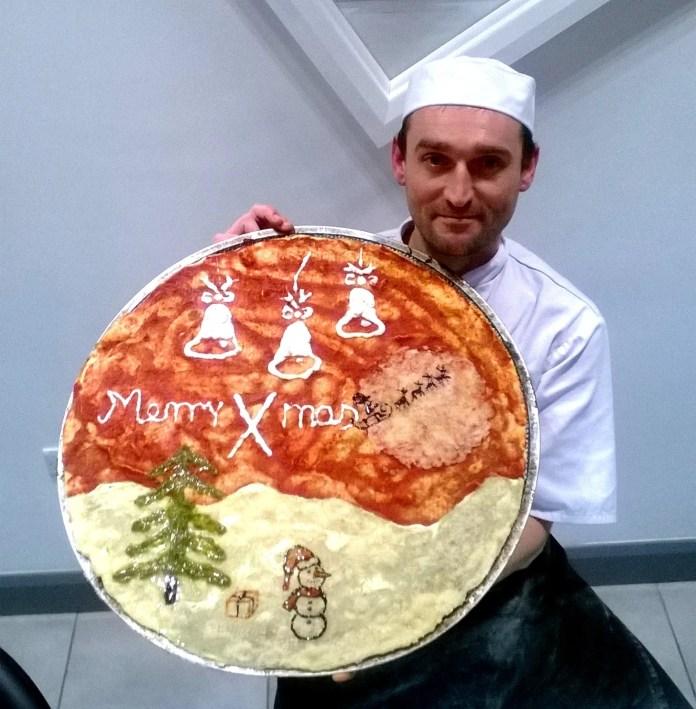 Christmas Pizza Jazz