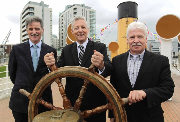 SS Nomadic First Minister's Visit