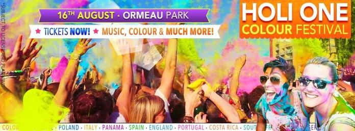 Holi One - Ormeau Park