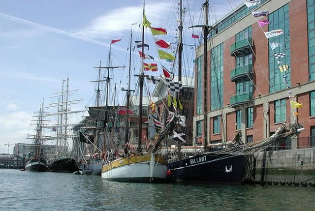 Tall Ships at Donegall Quay