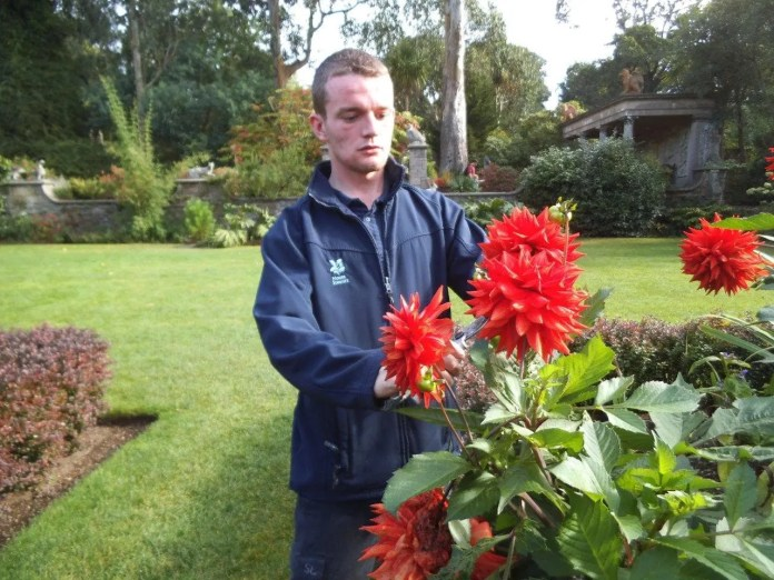Mount Stewart Garden Apprentice Kenneth Skelton