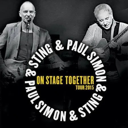Sting and Paul Simon Belfast
