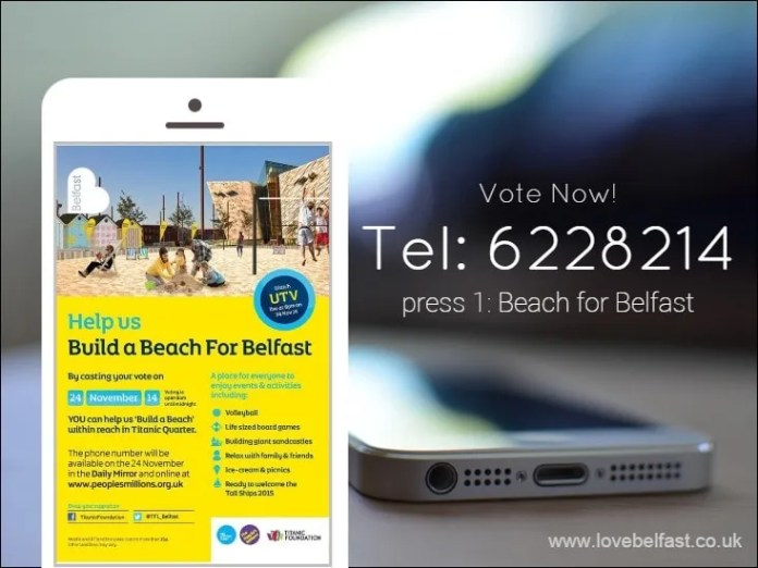 Beach for Belfast vote