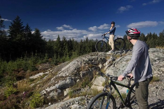 Mountain Biking in Davagh