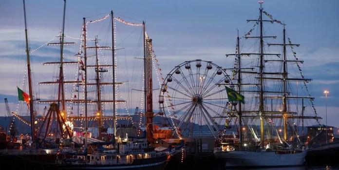 Tall Ships Belfast 2015