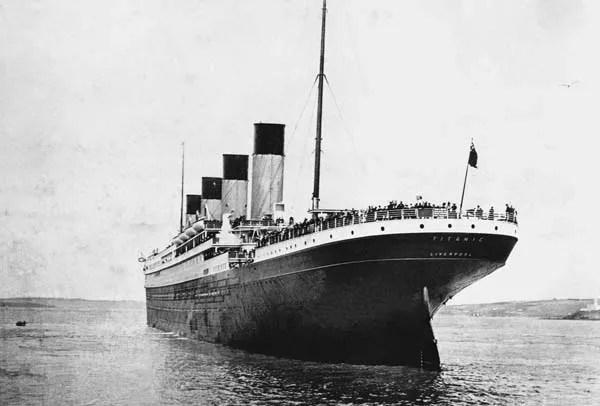 Titanic, Stern view