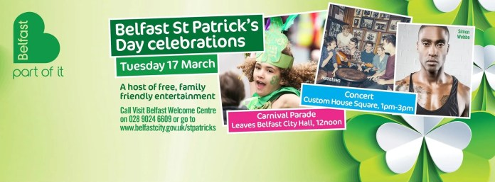ST Patrick's Day Belfast