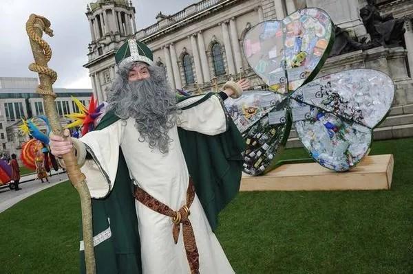St Patricks Day parade Belfast