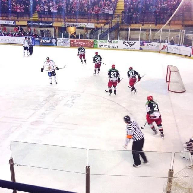 Belfast Giants Cardiff Devils