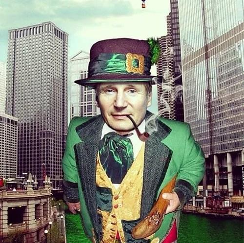 Liam Neeson St Patricks Day