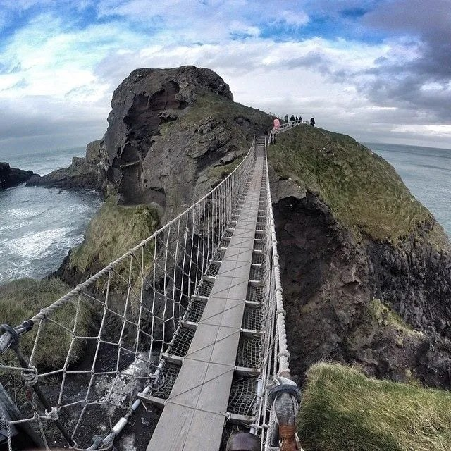 CARRICK-A-REDE rope bridge LoveBelfast