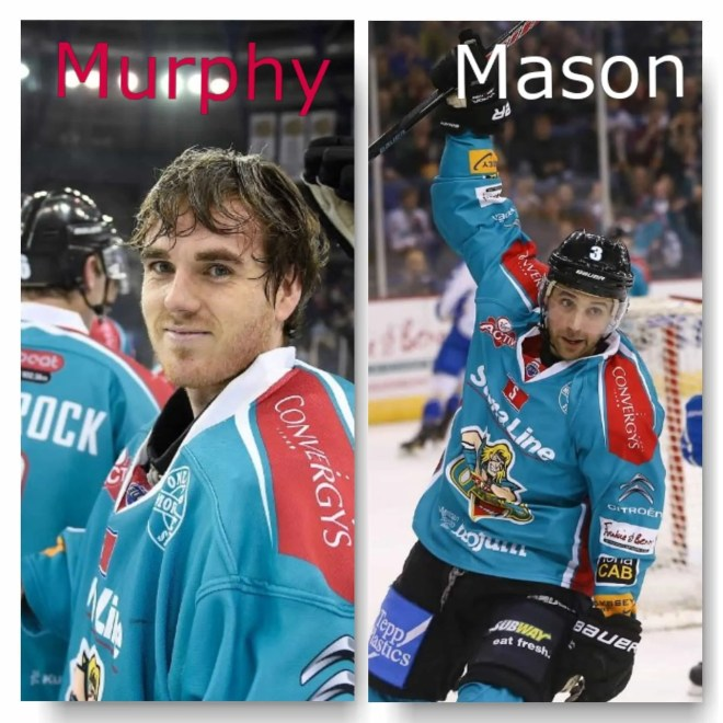 Murphy and Mason sign for Belfast Giants